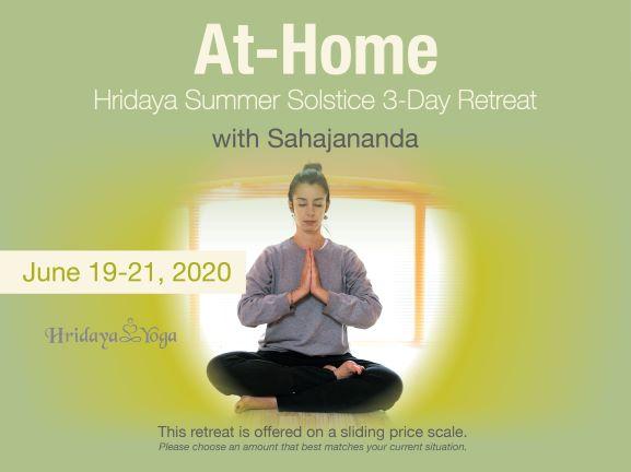 At-Home 3-Day Hridaya Summer Solstice Silent Meditation ...
